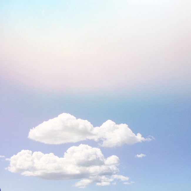 Pastel cloud photograph by Sara Hoque 2018